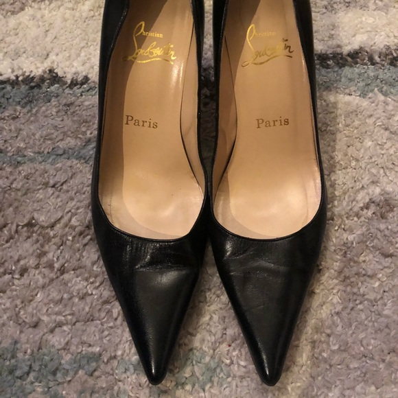 dcab5daf3f4e Christian Louboutin Shoes - Auth Christian Louboutin 85mm Pigalle 39 Black  EUC
